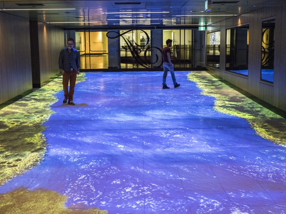 The Indoor Interactive River