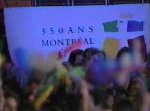 350th anniversary city of Montreal parade