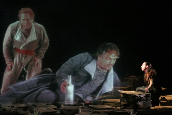 Robert Toupin, Jacques Girard and Paul Ahmarani in The Tempest